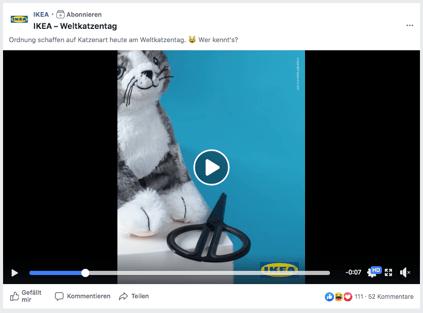 Ikea Weltkatzentag