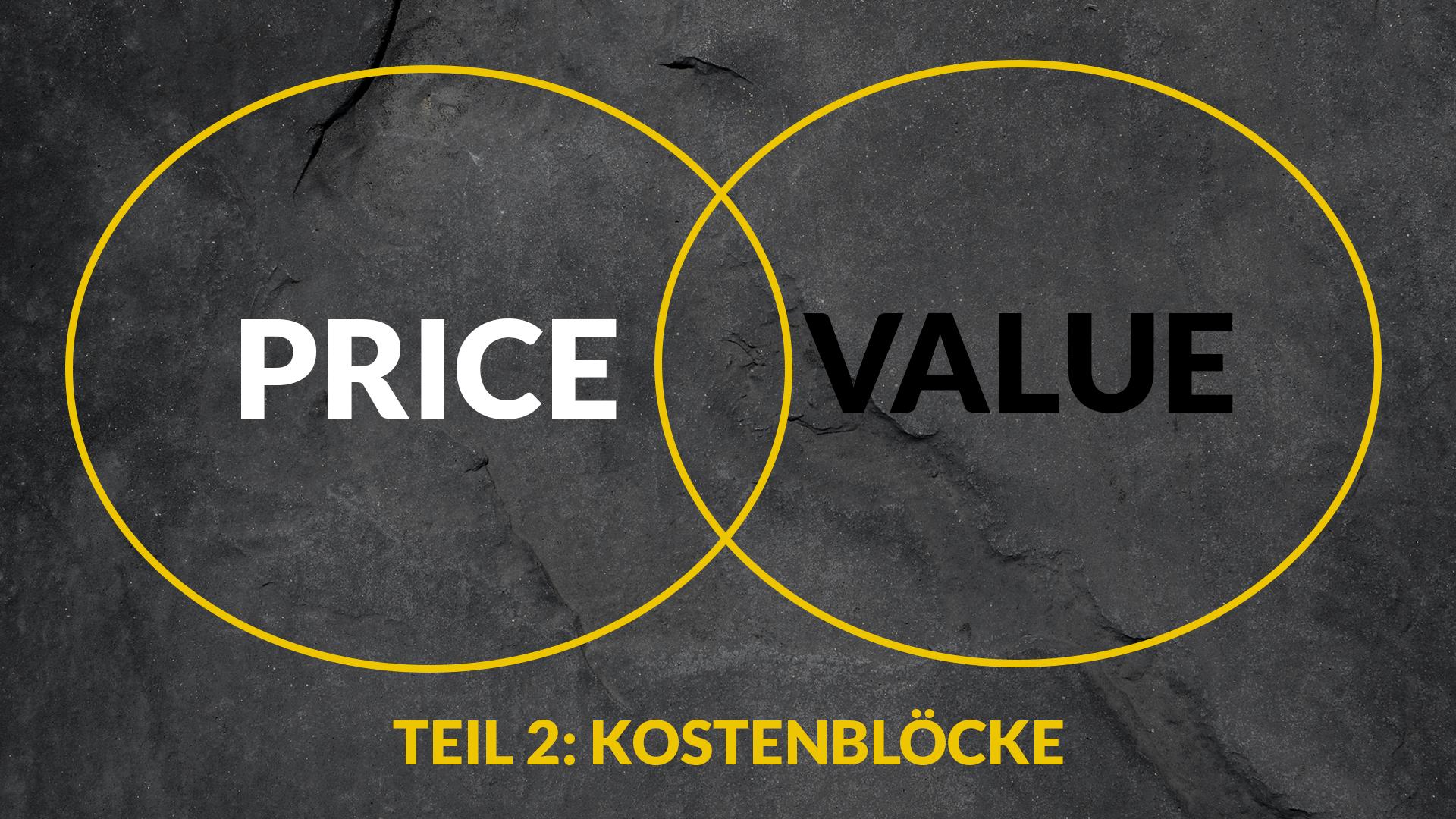 Content Marketing Kostenblöcke